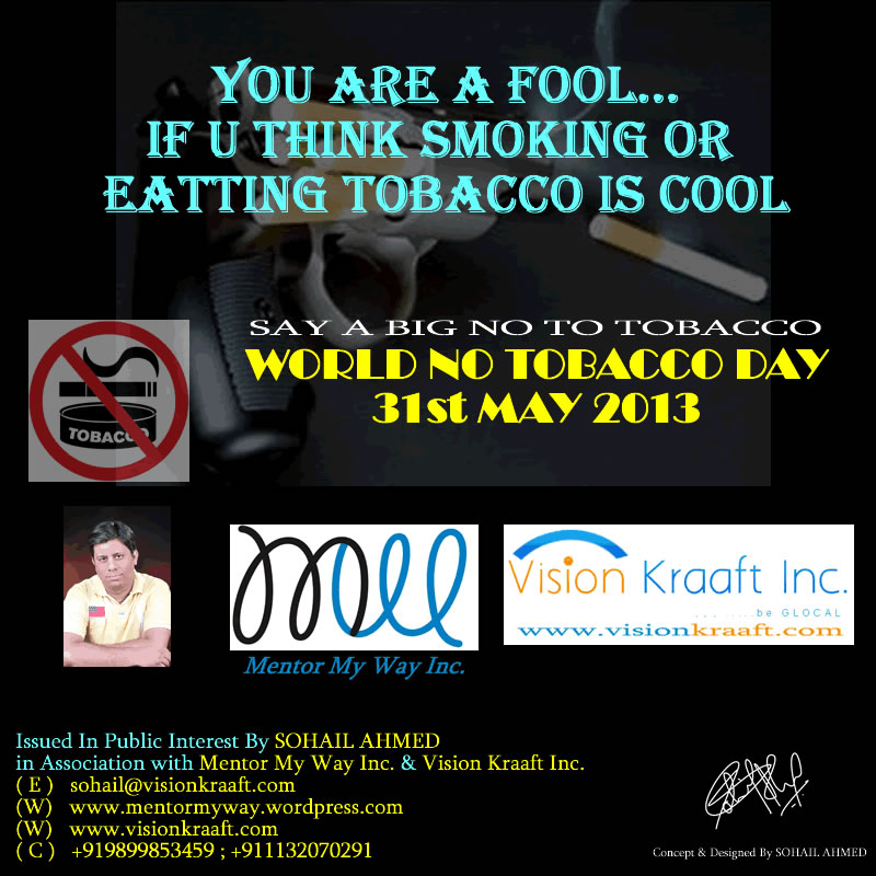 World No Tobacco Day Photo