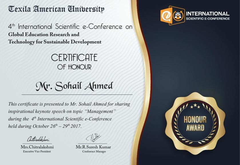 Certificate_Of_Honour_TAU_SOHAIL AHMED